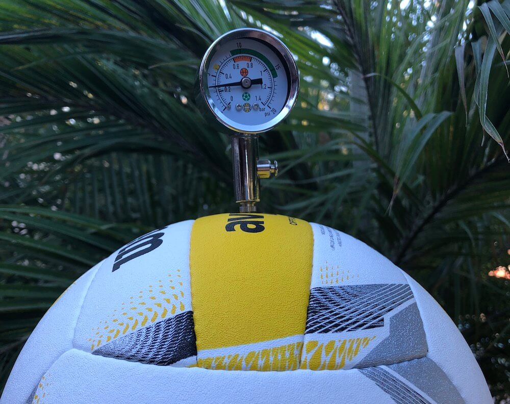 Wilson AVP volleyball pressure gauge