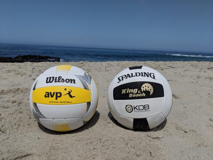 Wilson AVP vs Spalding KOB - best beach volleyball