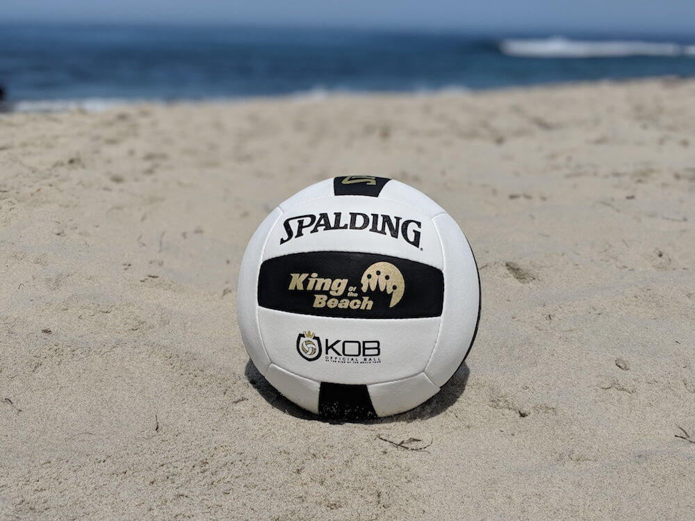 Spalding KOB volleyball at beach
