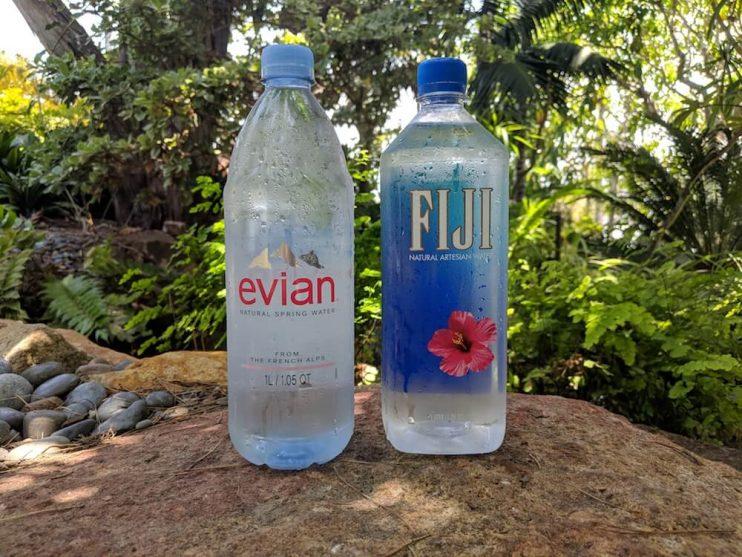 Evian Vs Fiji The Best Bottled Water Brand 2020