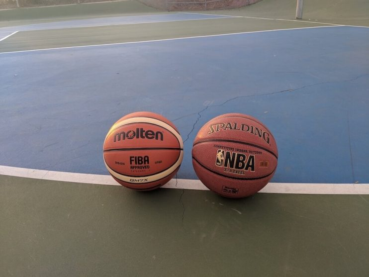 Spalding ZiO and FIBA GM7X Outdoor Basketballs