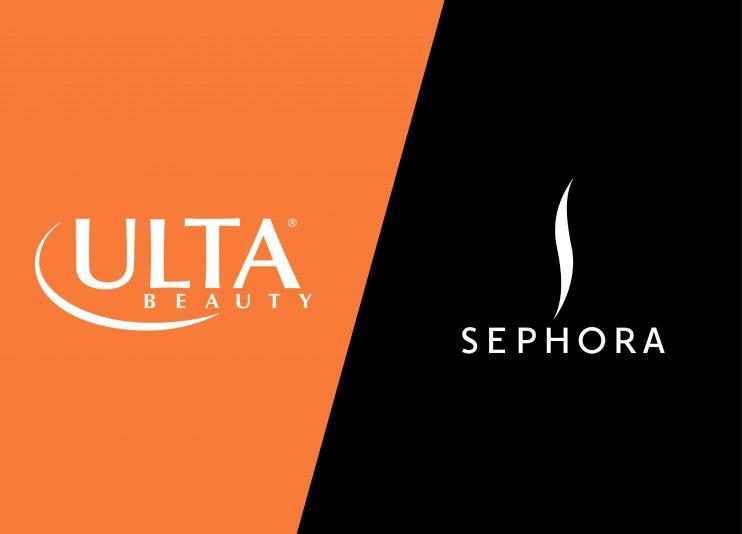 Ulta vs Sephora Logos