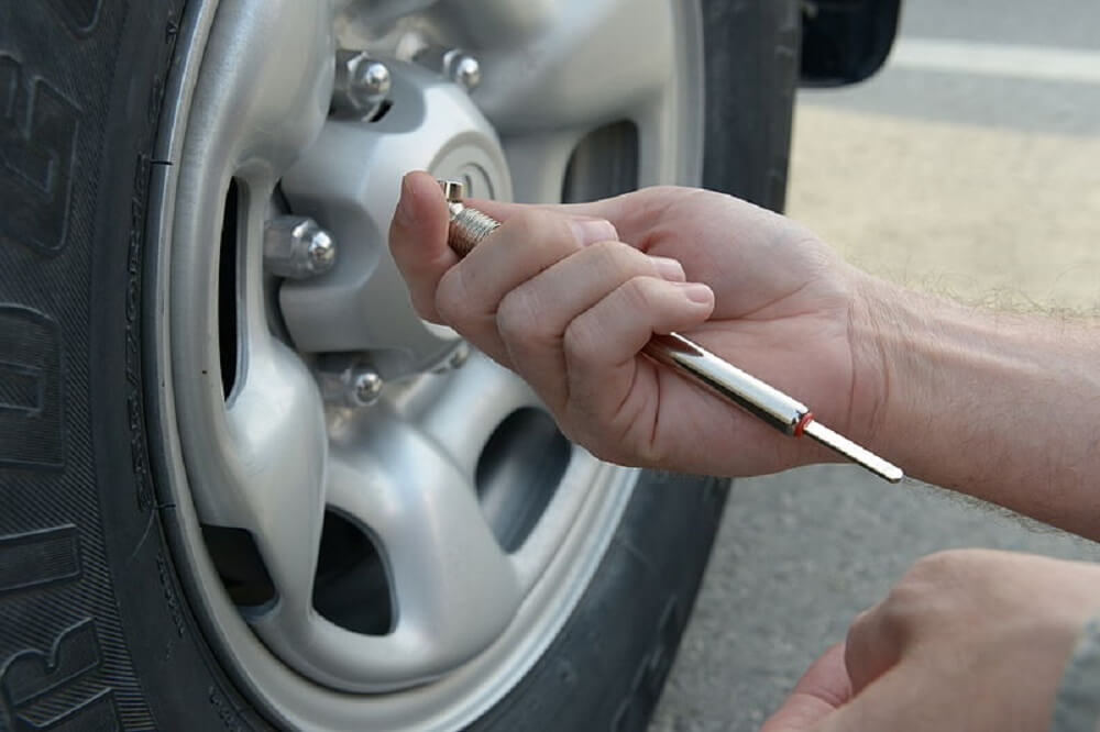 Check Tire Pressures
