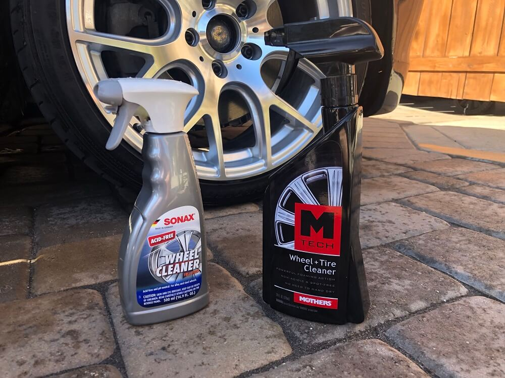 Mothers vs Sonax Wheel Cleaner