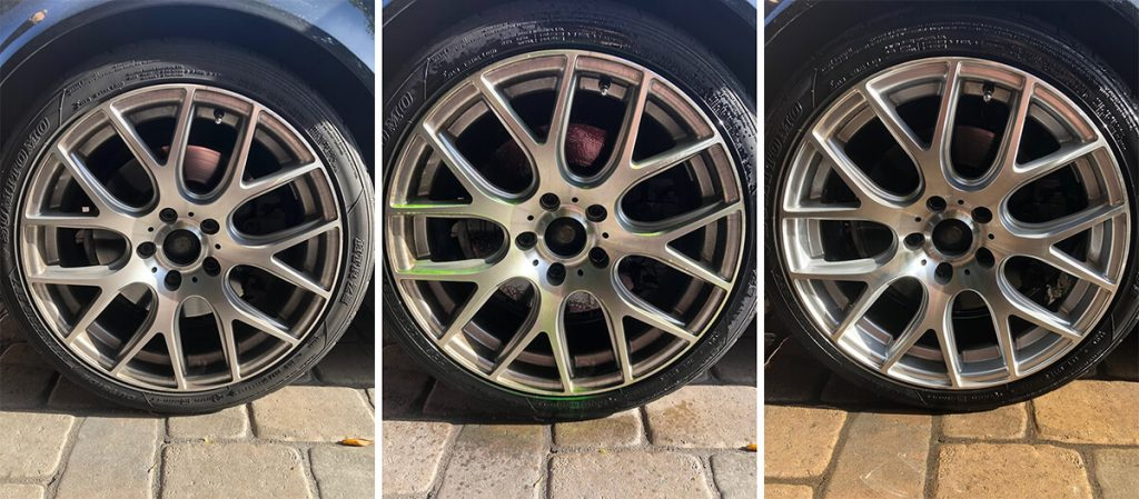 BMW Sonax Wheel Cleaners Test, Before, During, After