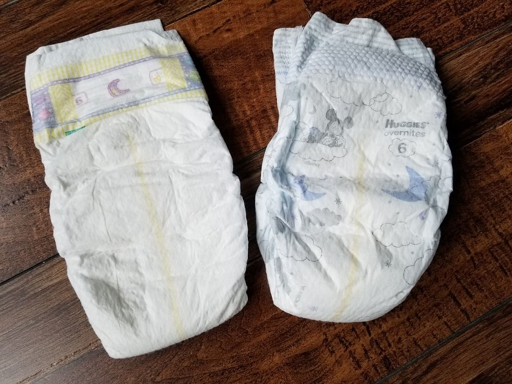 Huggies overnights vs pampers swaddlers