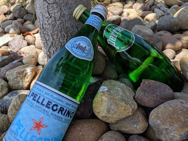 Perrier vs San Pellegrino in nature
