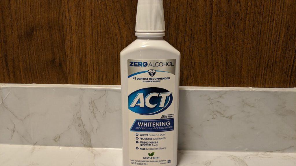 ACT Whitening Mouthwash
